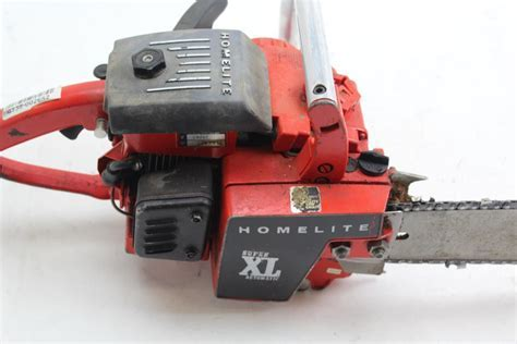 Homelite Super XL Automatic Chainsaw   Property Room