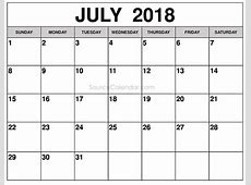 Pin by Calendar on July 2018 Calendar 2018 calendar
