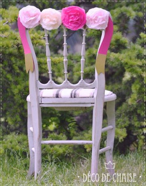 deco chaise mariage diy déco de chaise mariage chairs and