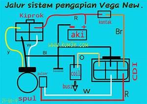Jalur Kabel Pengapian Yamaha Vega New