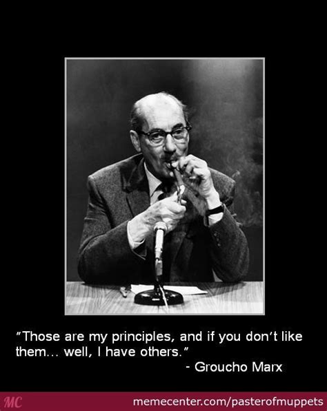 Groucho Marx Quotes Groucho Marx Quote 1 By Pasterofmuppets Meme Center