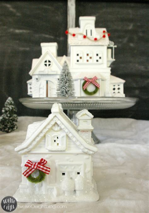How To Make A Glitter House Village {the Easy Way}