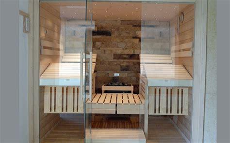 Design Sauna Glasfront by Sauna Mit Glasfront Sawesa Wellness Lifestyle Und Design