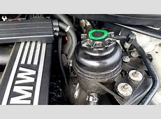 How to check, add power steering fluid BMW 3Series 20042013