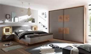 Moebel Guenstig24 : doppelbett nachtkommoden capri xl bett ehebett schlafzimmer 180x200 grau eiche ebay ~ Eleganceandgraceweddings.com Haus und Dekorationen