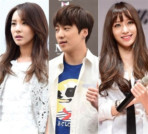 We express sincere gratitude to sandara park, who has been together with yg with special trust and affection. 2NE1's Sandara Park, Winner's Kang Seung Yoon, EXID's Hani ...