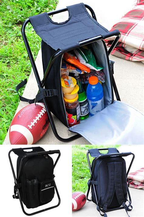 personalized portable sports chair with built in cooler