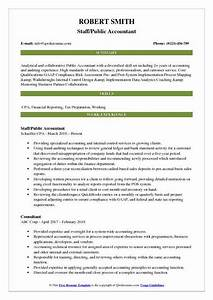 Customer Service Qualifications Public Accountant Resume Samples Qwikresume