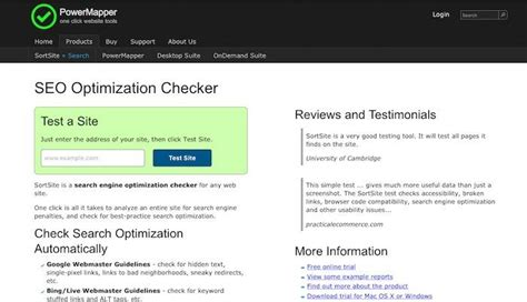 seo optimization checker 5 awesome and free website seo tools revital agency