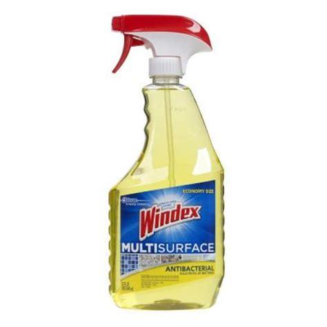 windex 32 oz antibacterial multi surface cleaner trigger