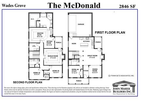 mcdonald plan   wades grove
