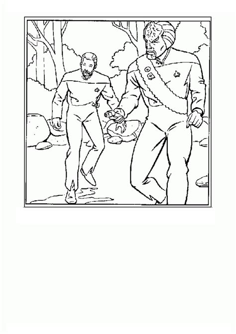 Coloring Page Tv Series Coloring Page Star Trek Picgifscom