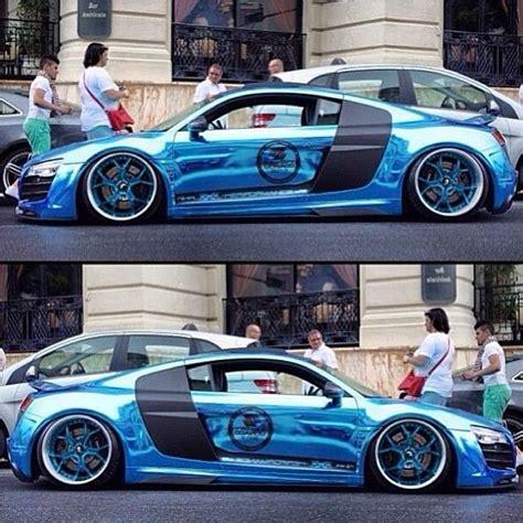 Blue Chrome Audi R8- Sha-ting!