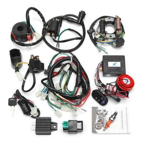 Two Holes Full Electrics Wiring Harness Coil Cdi Engine