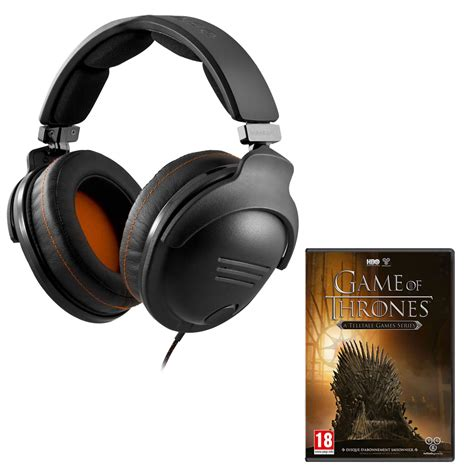volant siege ps3 steelseries 9h of thrones pc offert 61101