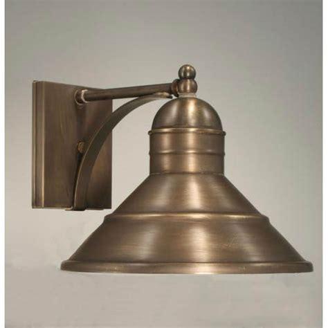 northeast lantern barn brass one light outdoor wall light 3421 ab med bellacor