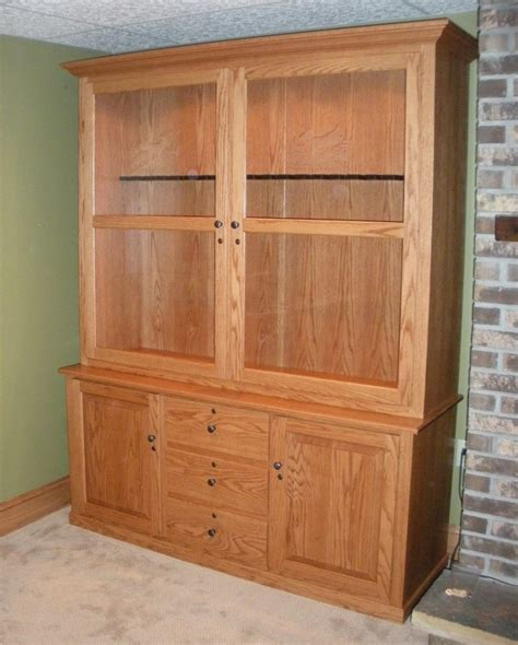 custom wood products handcrafted cabinets custom oak gun cabinet country lane furniture