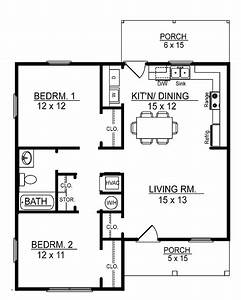 small 2 bedroom floor plans you can download small 2 With small 1 story house plans