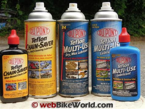 Dupont Motorcycle Chain Lubes For 2012