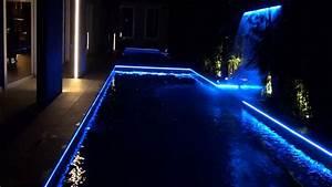 Led light design awesome led light for pools above ground for Eclairage bord de piscine