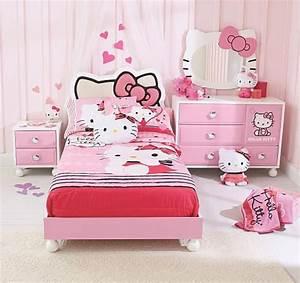 Chambre Hello Kitty : comment d corer la chambre des fans de hello kitty bricobistro ~ Voncanada.com Idées de Décoration