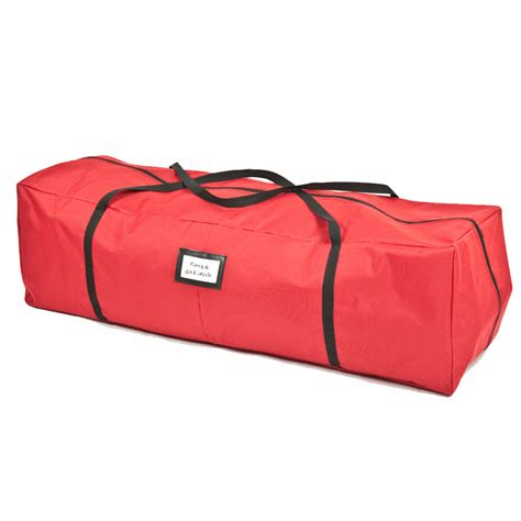 lowes christmas tree bag shop treekeeper 14 in x 48 in 6 cu ft polyester tree storage bag at lowes