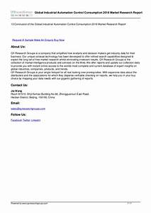 Research Details Developments Global Industrial Automation ...
