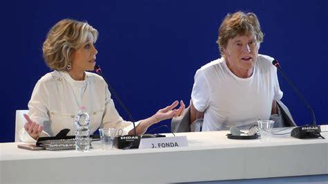 robert redford venice 2017 jane fonda and robert redford press conference venice film