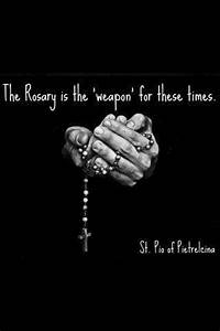 ROSARY QUOTES i... Rosary Quotes