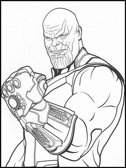 Avengers Endgame Coloring Colorir Printable Kleurplaat Vingadores