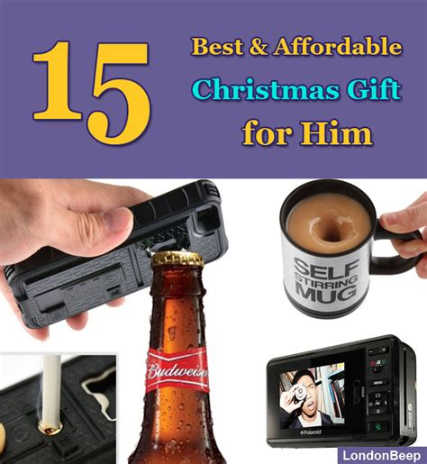 15 best affordable christmas gift for him 2017