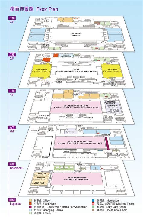 queen elizabeth stadium   floor plan