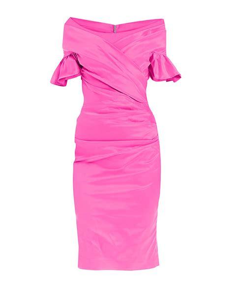 Draped Satin Dress - freja draped satin dress