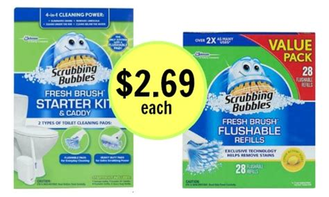 75916 Coupon Scrubbing Bubbles Shower Cleaner by New Scrubbing Bubbles Coupons Target Deal Southern Savers