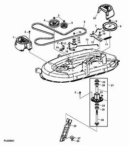 31 John Deere L100 Belt Diagram