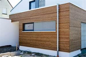 Holzverkleidung Fassade Arten : holzverkleidung fassade halbhohe holzverkleidung an der ~ Lizthompson.info Haus und Dekorationen