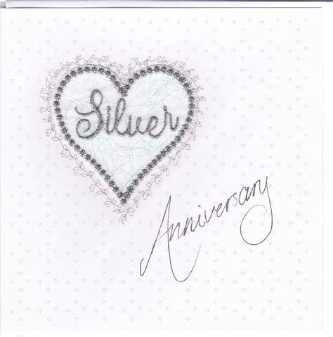 silver anniversary silver anniversary heart