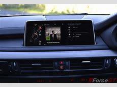 2014 BMW X5 M50d interior infotainment display screen