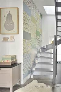 celine vous ouvre ses portes le blog de mini labo With affiche chambre bébé avec porte pots de fleurs en escalier