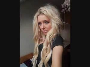 Light Hair With Lowlights Pic Of Chloe Harwood Youtube