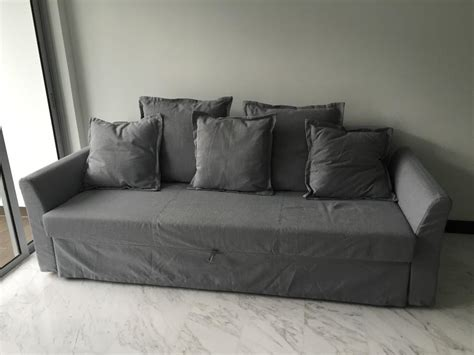 ikea holmsund 3 seater sofa bed singapore