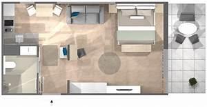 5 Qm Küche Einrichten : einzimmerwohnung einrichten 5 ideen und inspirierende bilder ~ Bigdaddyawards.com Haus und Dekorationen