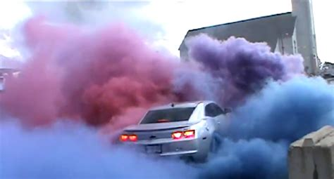 colored smoke tires for sale majestic camaro ss burnout with colored tire smoke