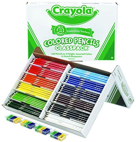 colored pencils bulk colored pencil bulk 240 count classpack