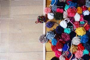 Canevas Pour Tapis : diy tricot tutoriel pour faire un tapis en pompons tricot and co ~ Farleysfitness.com Idées de Décoration
