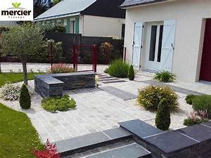 circulations mercier paysage paysagiste With pave pour allee de jardin 2 allees carrossables et accas de jardin dans le morbihan