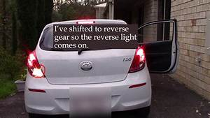 Hyundai I20 Right Reverse Light Not Working    How To Turn