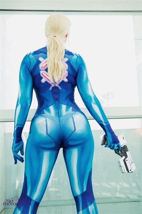 Zero Suit Samus Cosplay Print On Storenvy