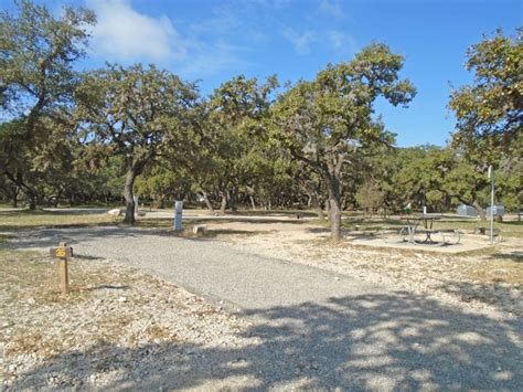 garner state park premium standard campsites  garner area texas parks wildlife department