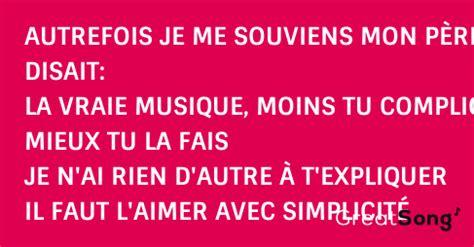 chanson d amour paroles alain morisod sweet people